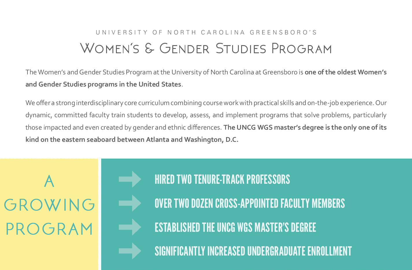 donate to wgs women s gender studies it has given me deep analytical skills access to an array of disciplines and it has empowered me not to simply